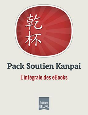 Pack Soutien Kanpai (6 eBooks Deluxe + audio)