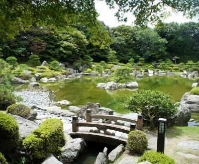 Jardins Japonais Et Parcs Les Espaces Verts Et Naturels A Travers L Archipel