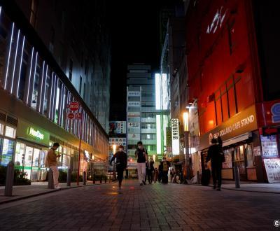 Tokyo dans le noir sous état d'urgence, Akihabara
