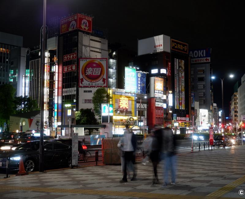 Tokyo dans le noir sous état d'urgence, Ikebukuro est 4