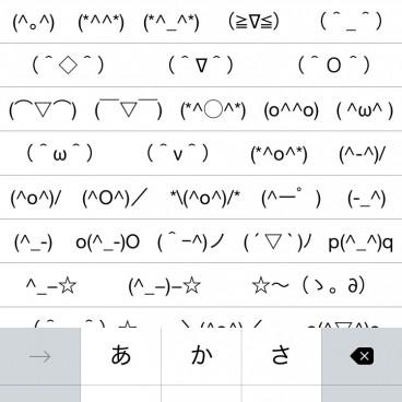 Emoji Les Amusants Smileys Japonais