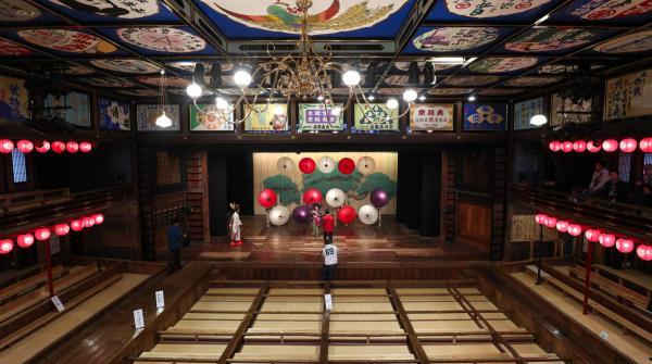Yamaga, salle du théâtre Yachiyo-za