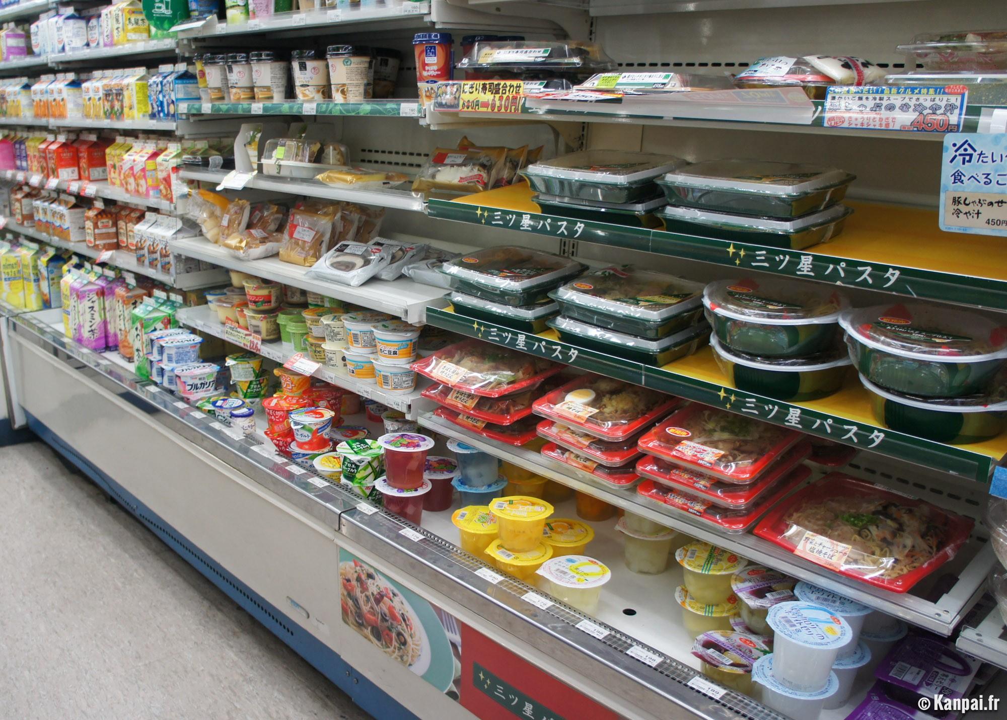 Konbini les épiceries japonaises ouvertes