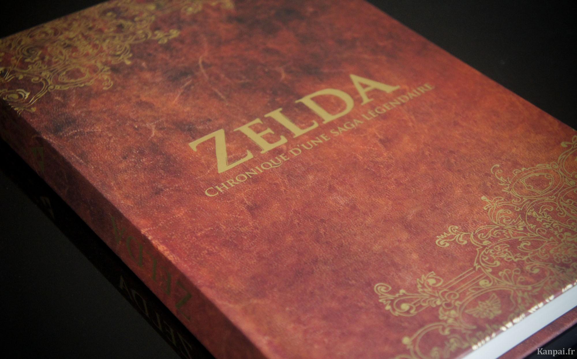 Zelda Chronique D Une Saga Legendaire Livre