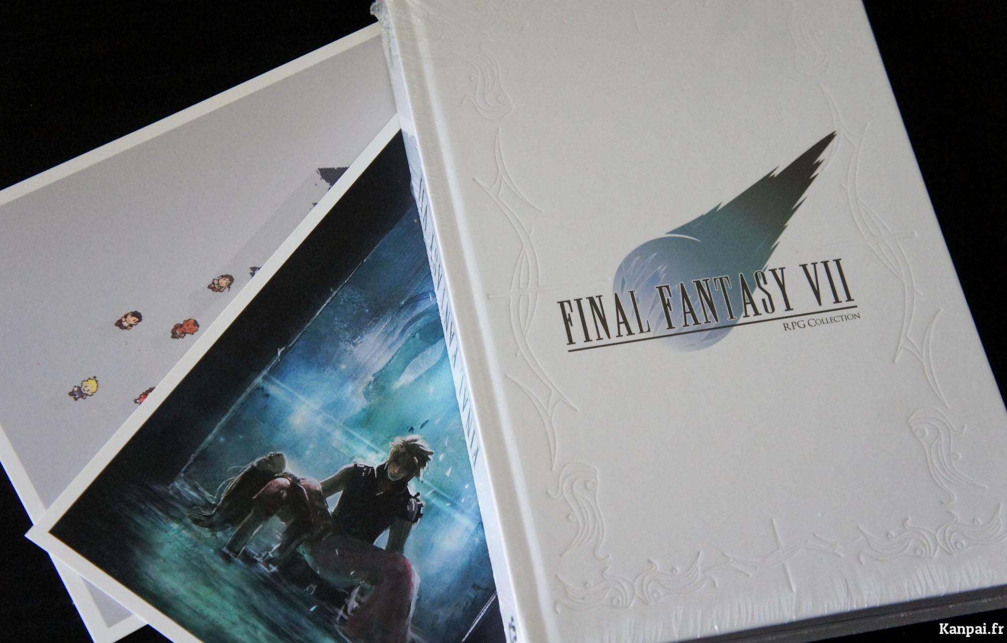 Concours Gagnez 5 Livres Final Fantasy Vii