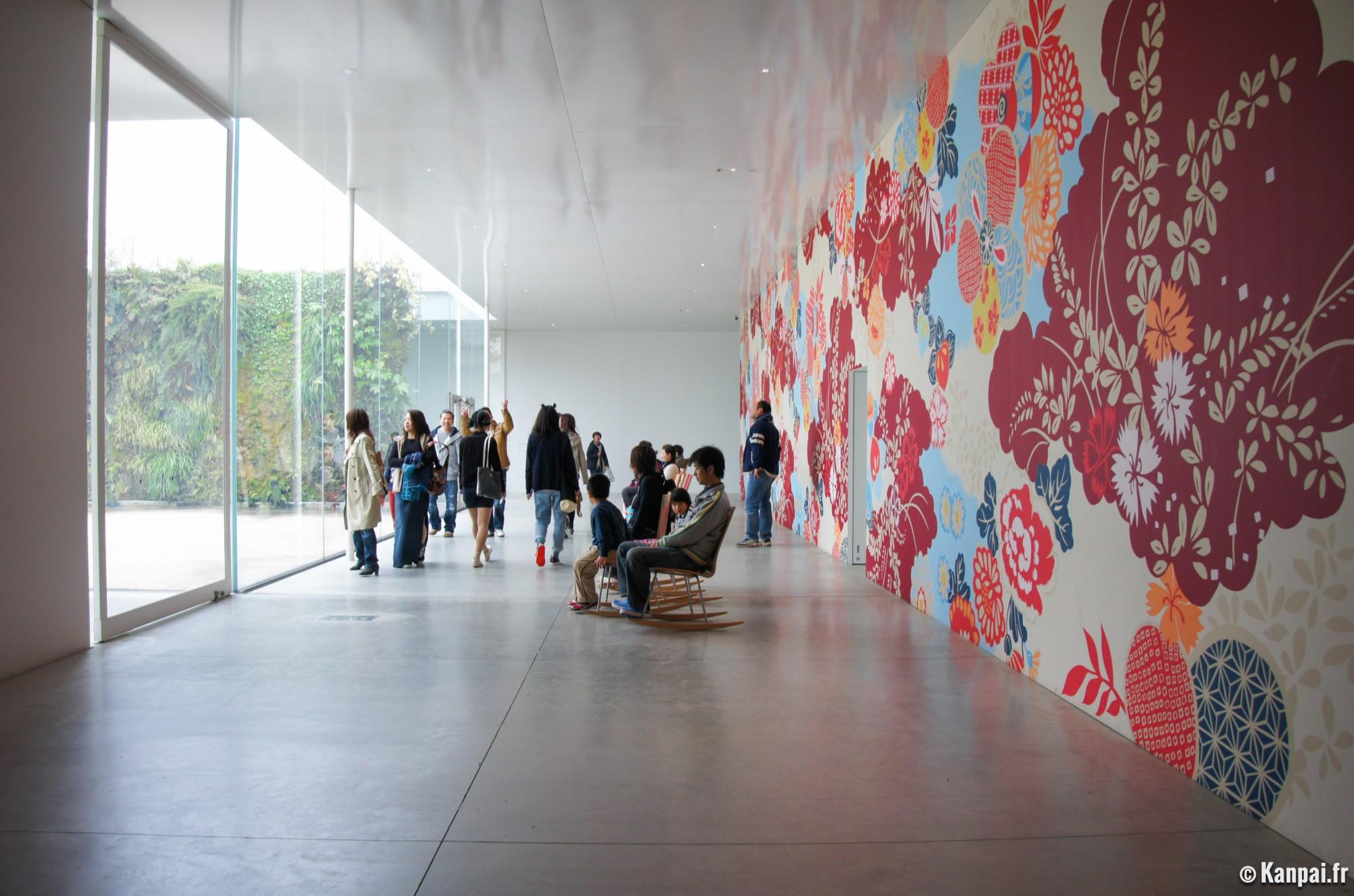 mus e d 39 art contemporain du 21e si cle les expositions de kanazawa. Black Bedroom Furniture Sets. Home Design Ideas