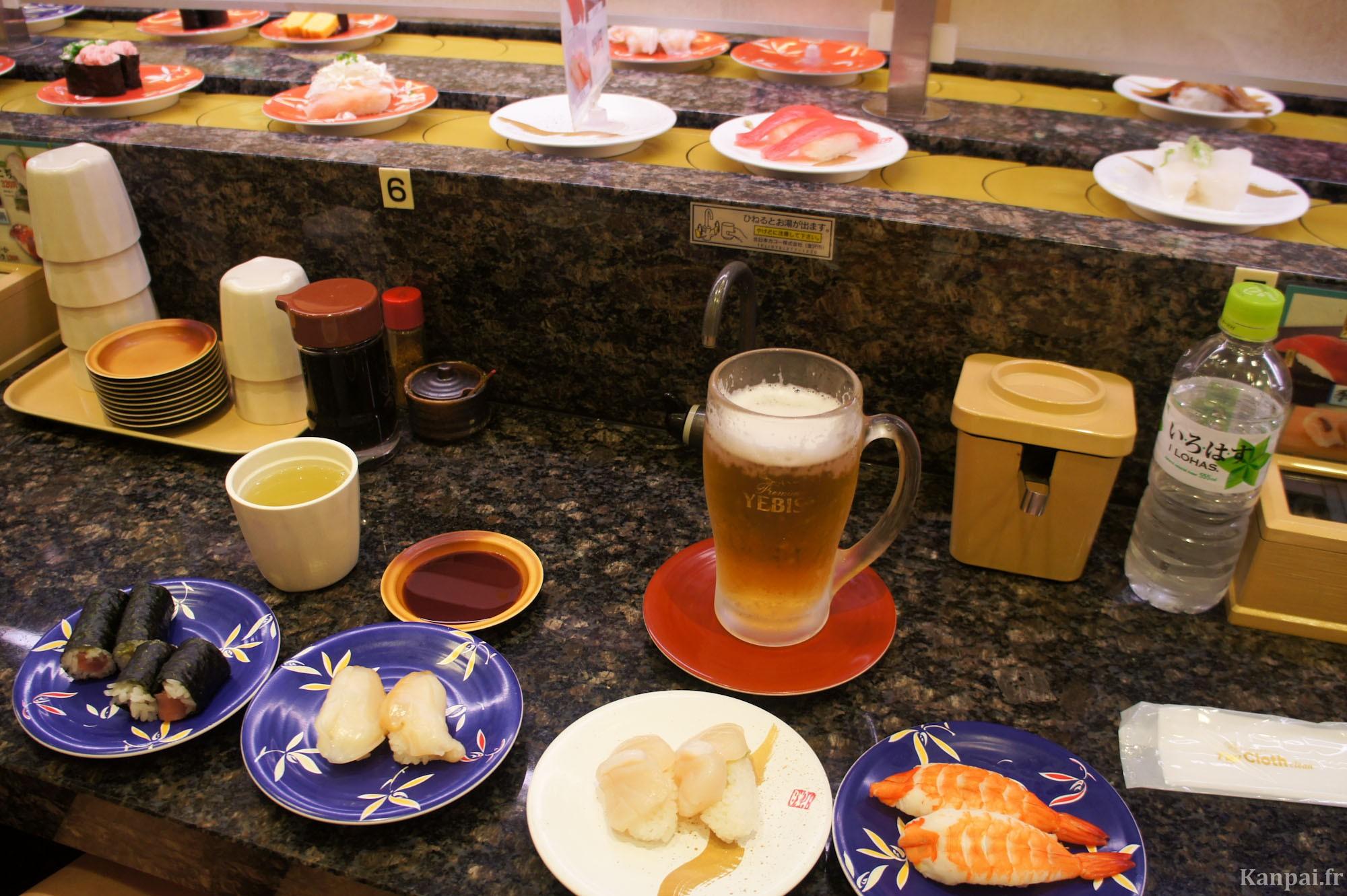 kaiten zushi restaurants de sushi 224 plateau tournant