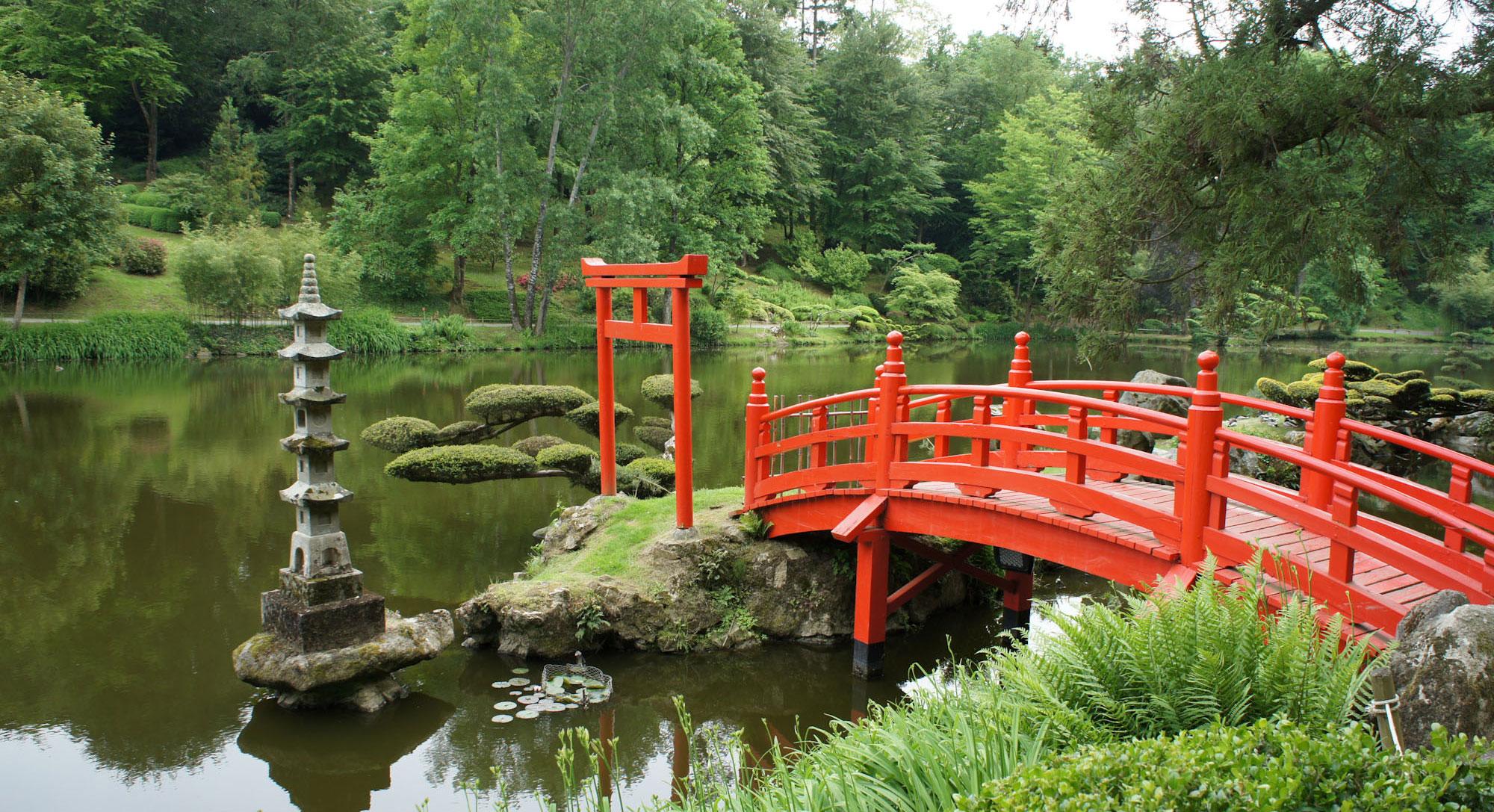 Jardin japonais de maul vrier for Le jardin oriental de maulevrier