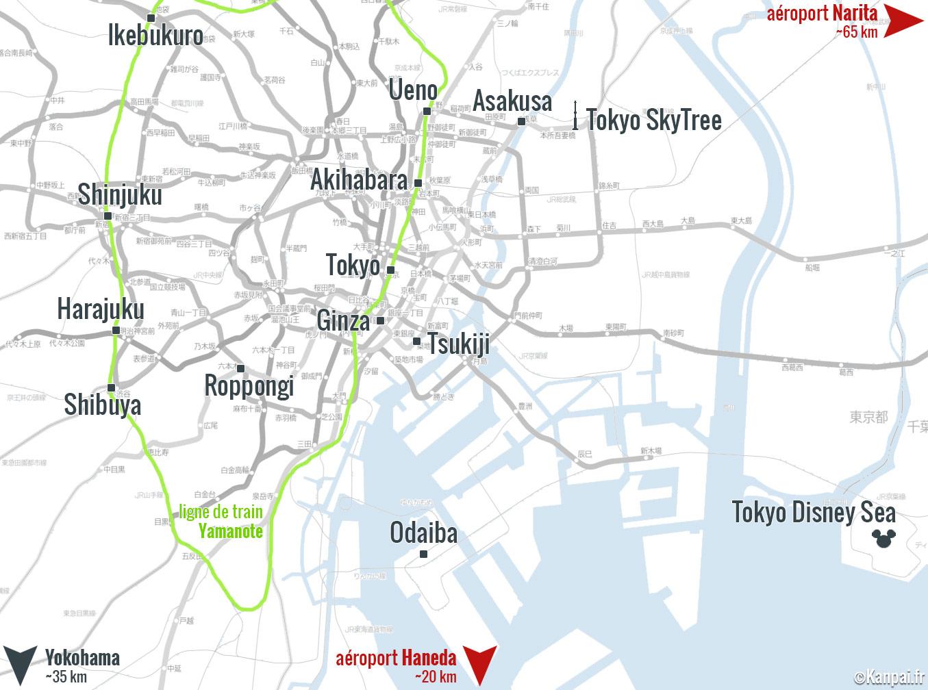 100 Idees De Visites A Tokyo