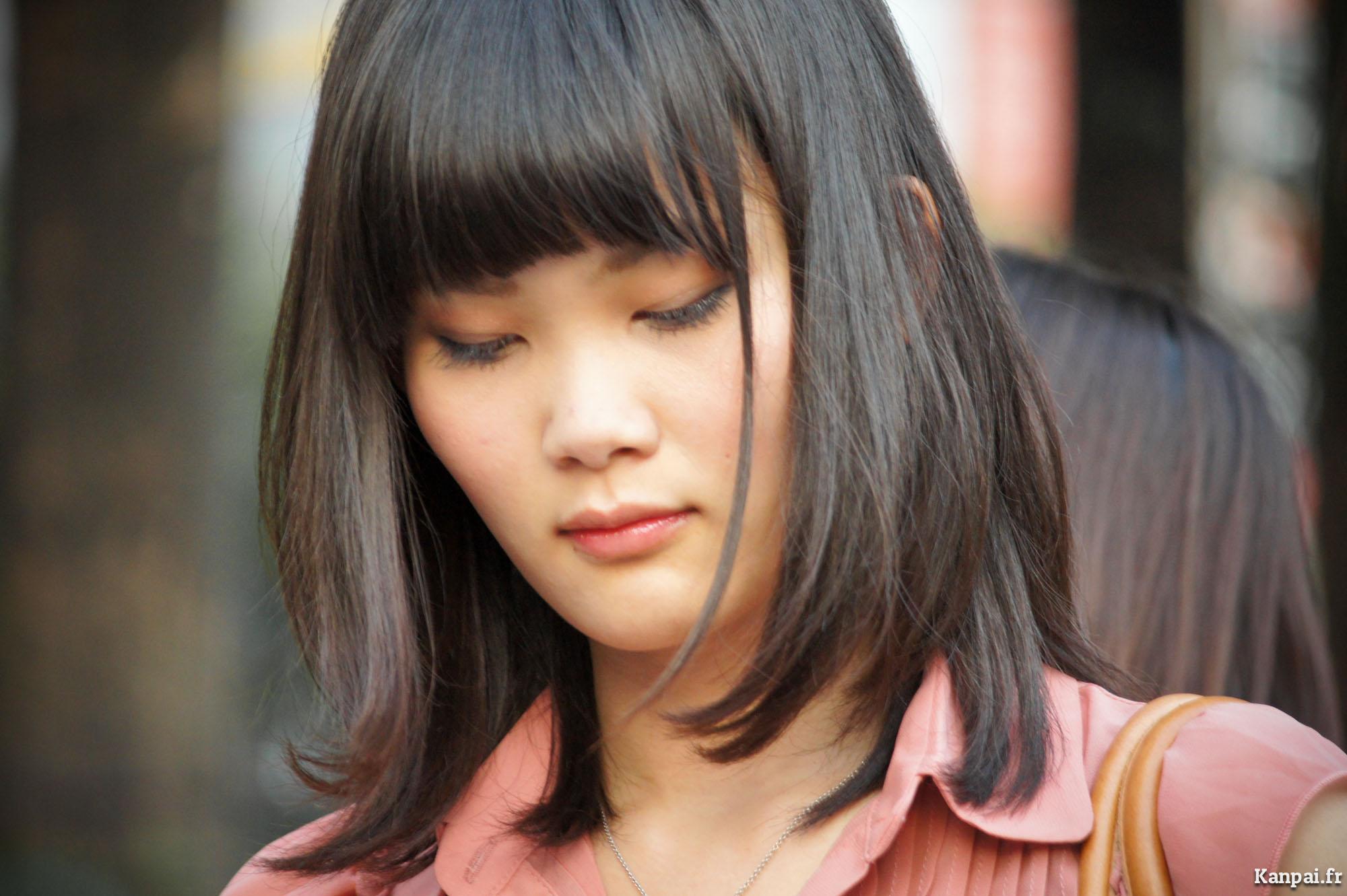 Vrais adolescents asiatiques en japonais