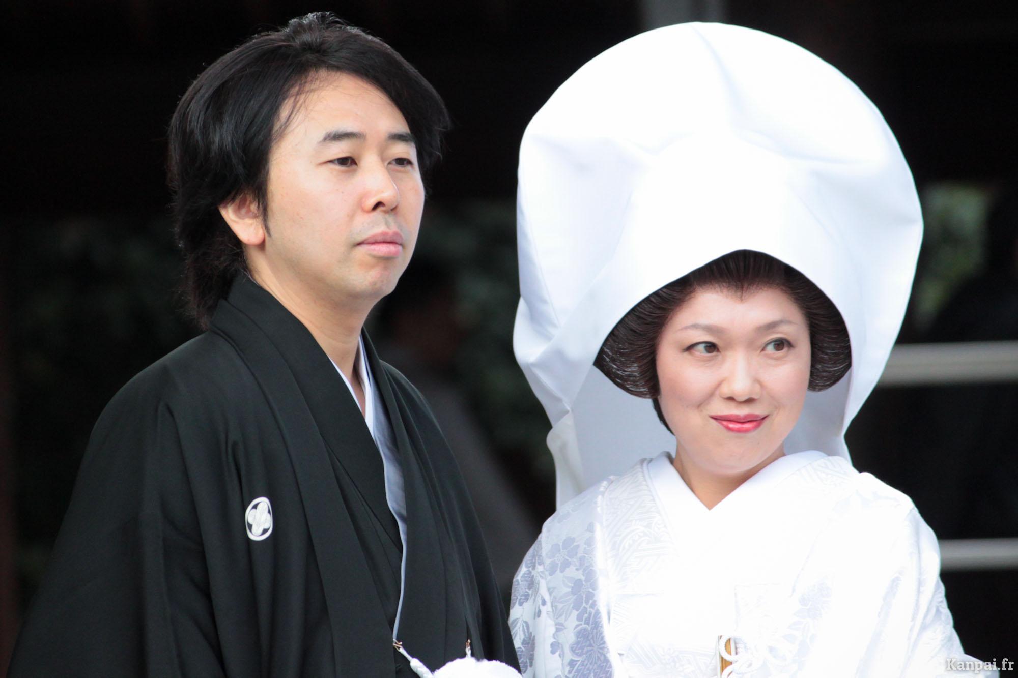 mariage,couple,japon
