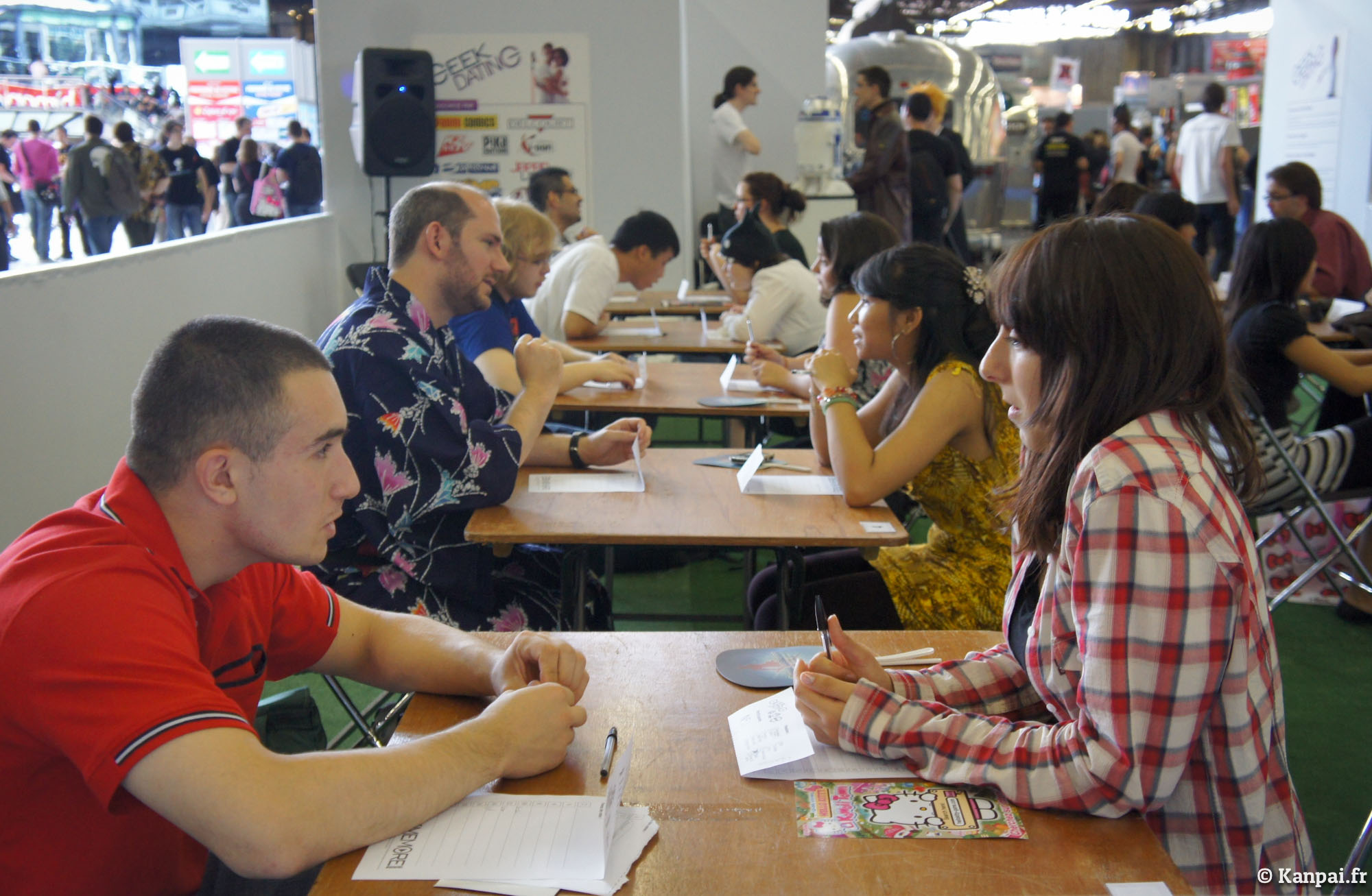 Japan expo speed dating
