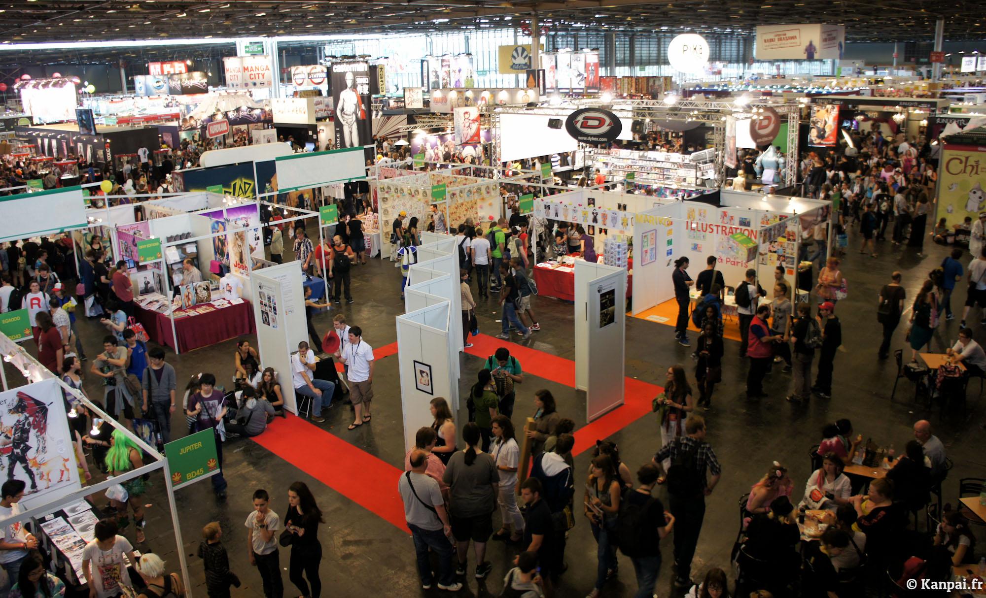 Expo Stands Australia : Japan expo pompe à fric otaku