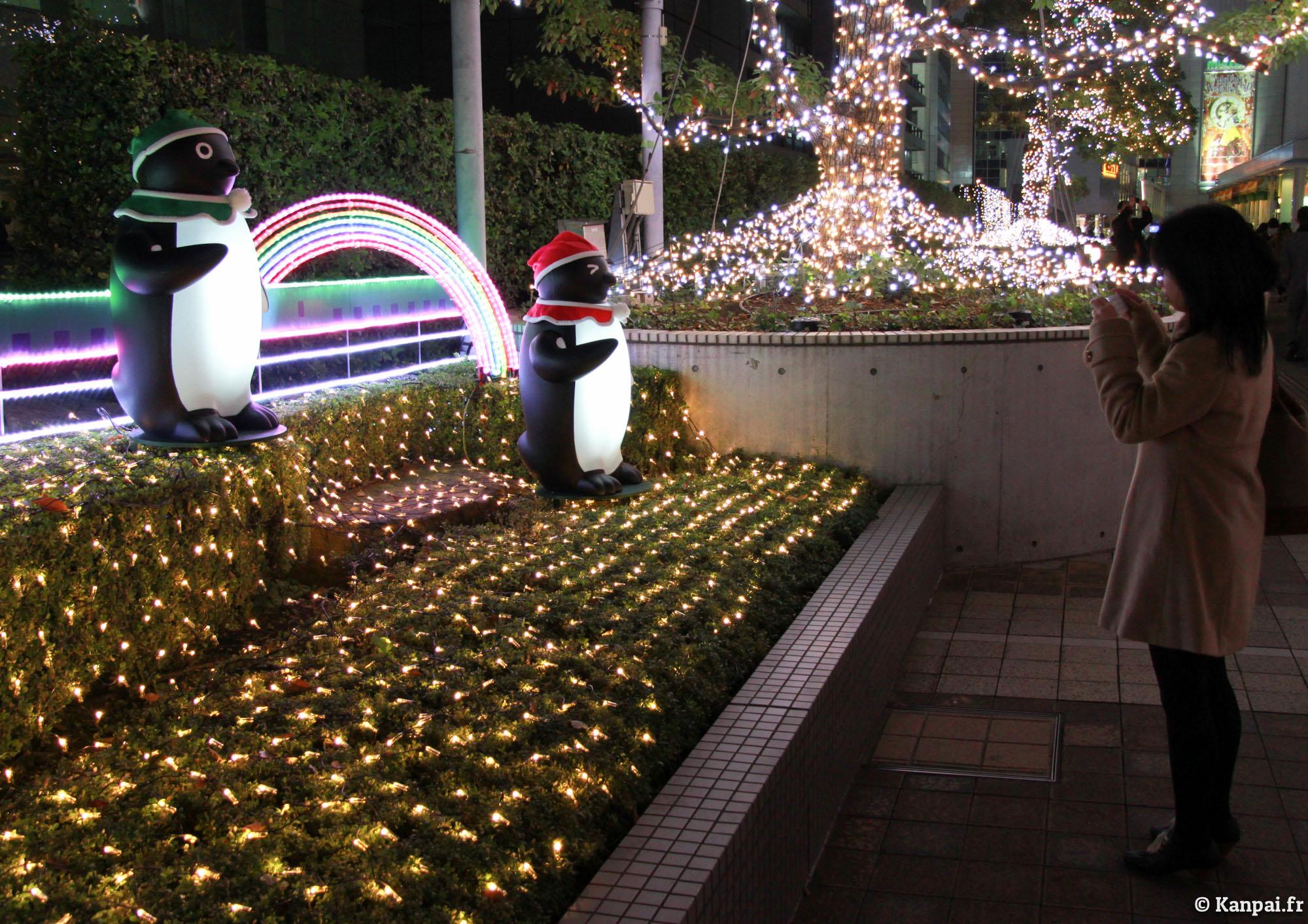 #9A6F31 Tokyo à Noël 5327 decorations de noel au japon 2000x1413 px @ aertt.com