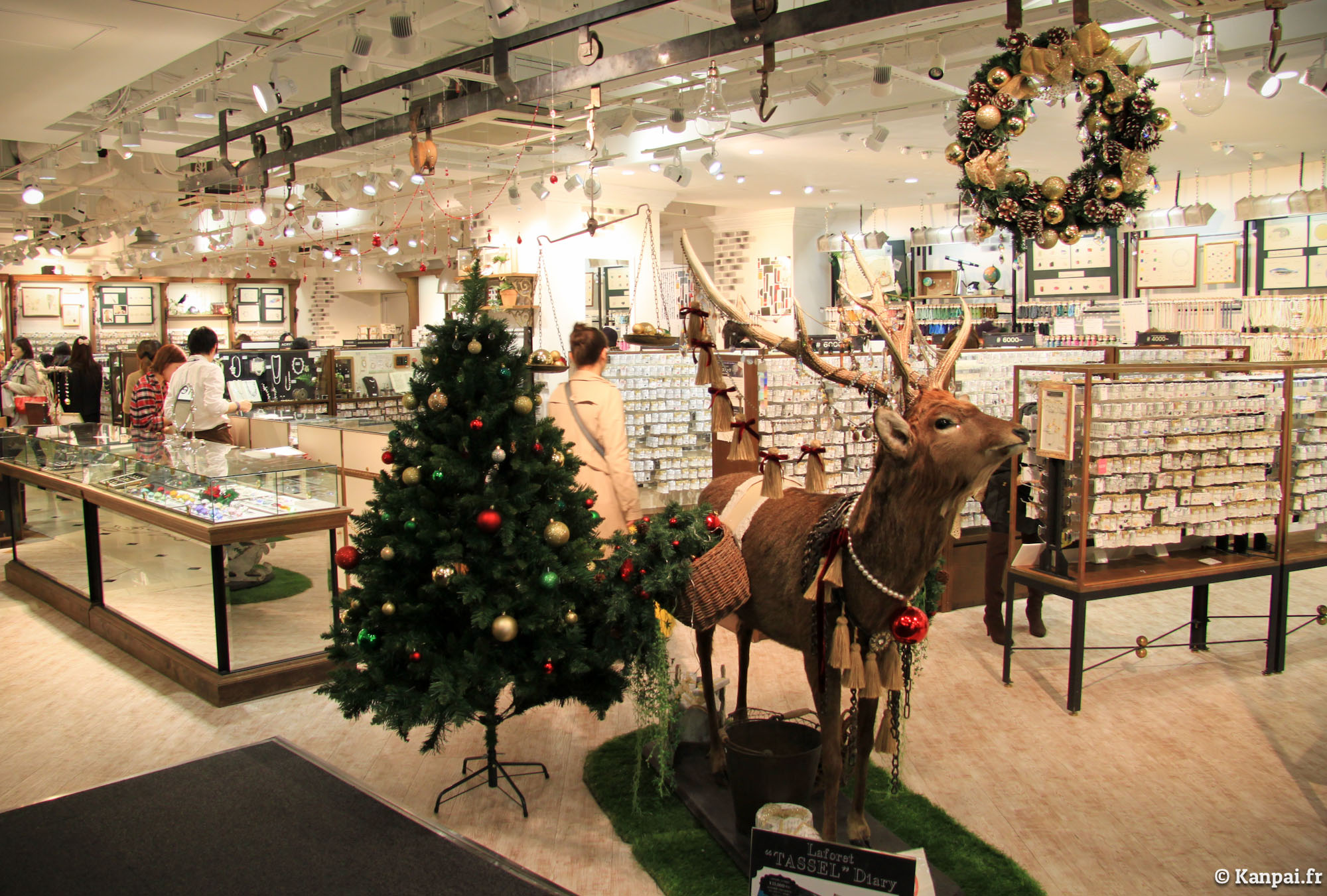 Tokyo no l for Les decorations de noel