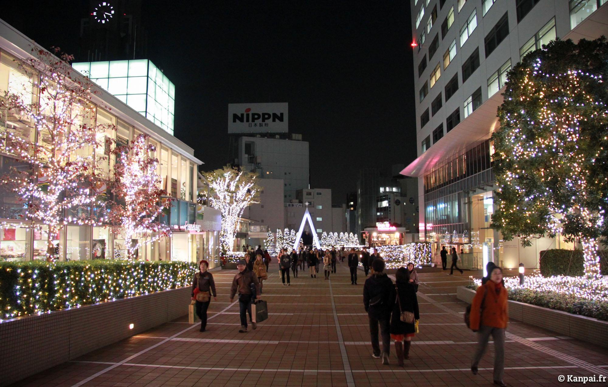 #8D6B3E Tokyo à Noël 5327 decorations de noel au japon 2000x1272 px @ aertt.com