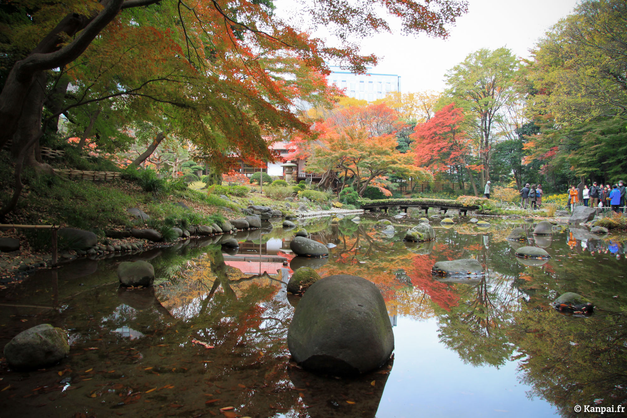 Koishikawa korakuen le jardin japonais de tokyo dome for Jardines okayama