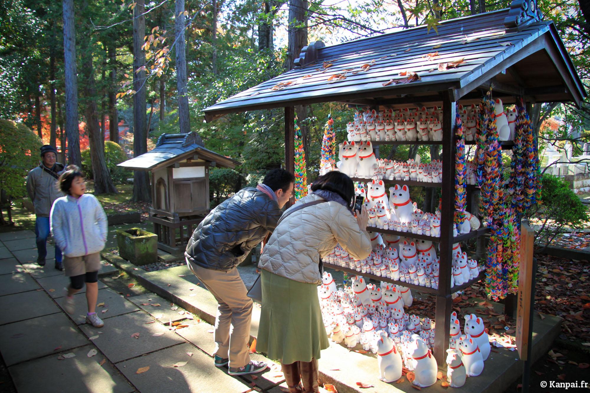 Gotoku Ji Le Temple Du Maneki Neko 224 Tokyo