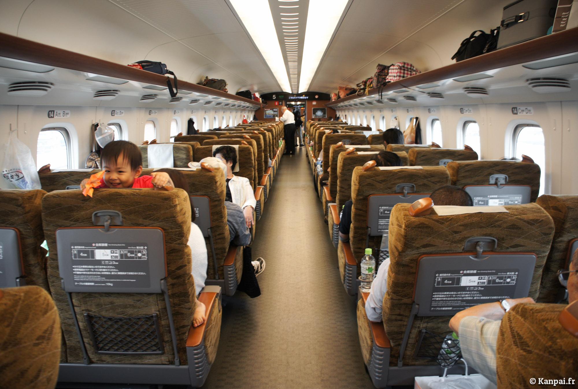 Comment japan rail botte le train de la sncf for Interieur ouigo