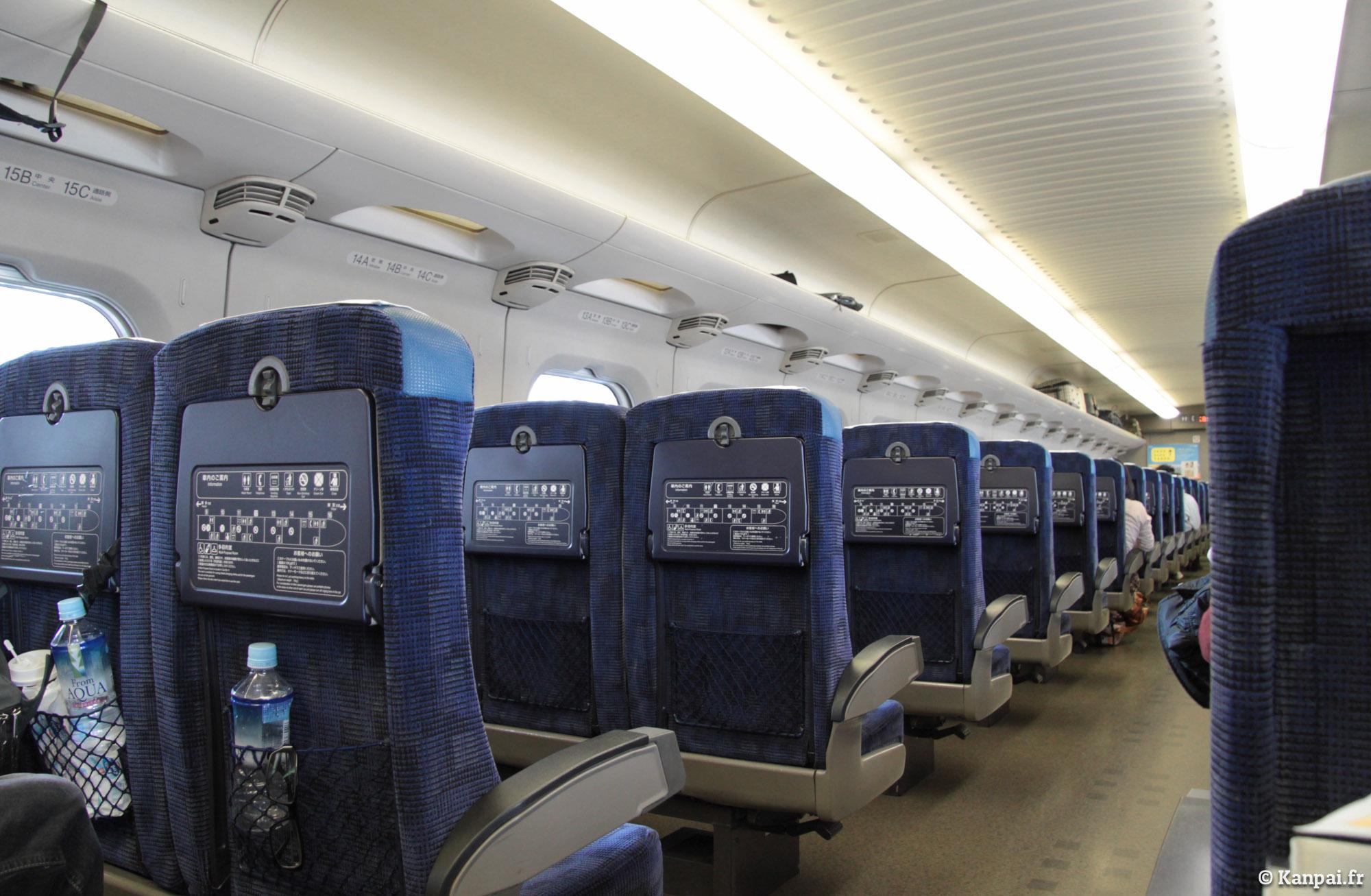 Comment japan rail botte le train de la sncf for Interieur tgv