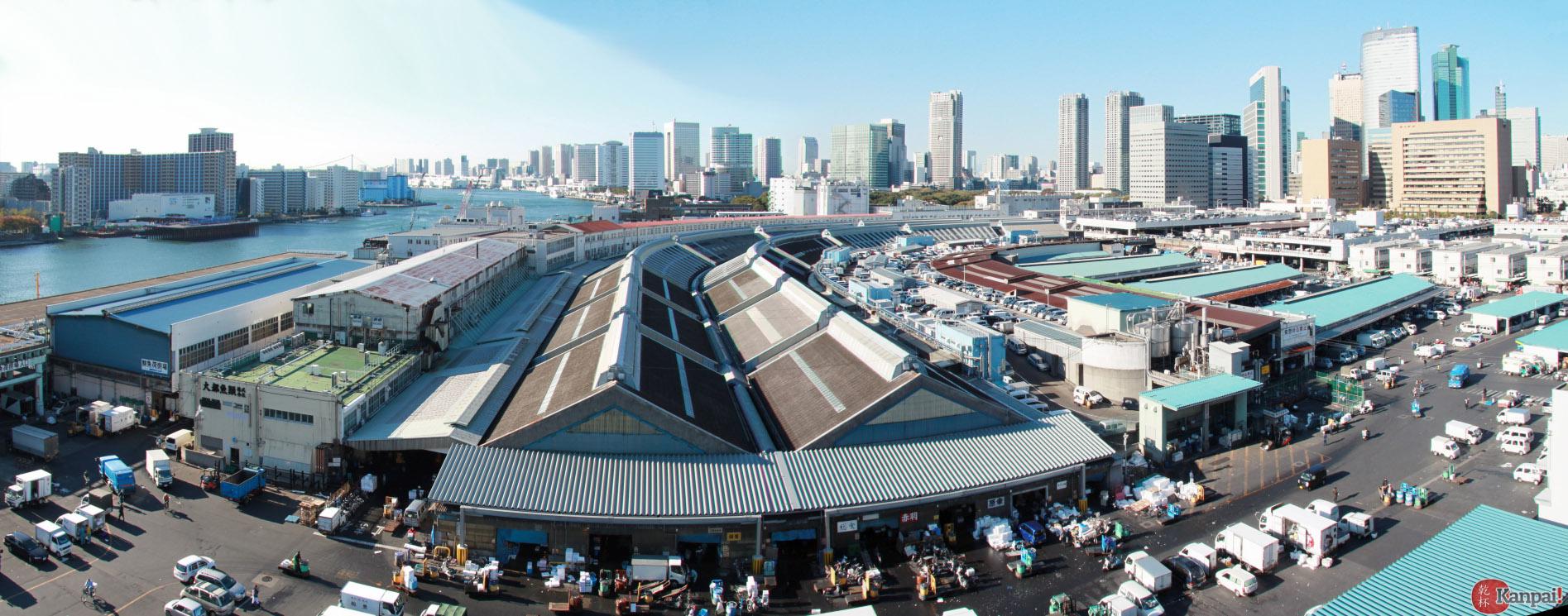 Tsukiji le plus grand march aux poissons du monde - Climatiseur le plus silencieux du marche ...