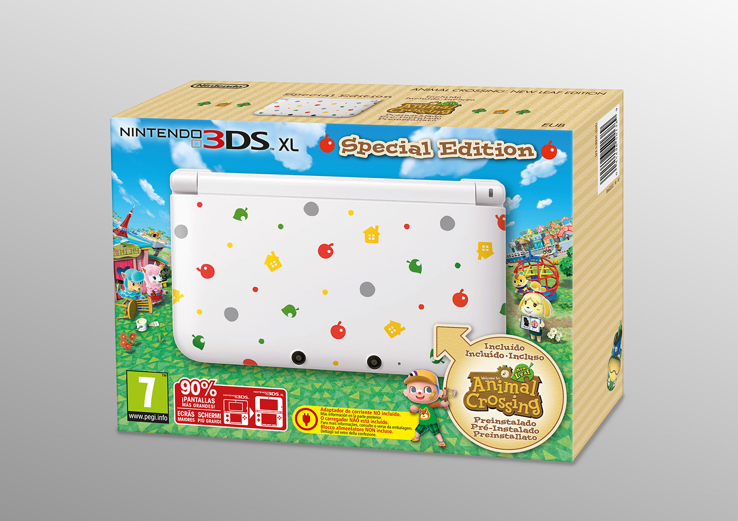 Top Concours Animal Crossing : New Leaf - gagnez une Nintendo 3DS, 5  QN69