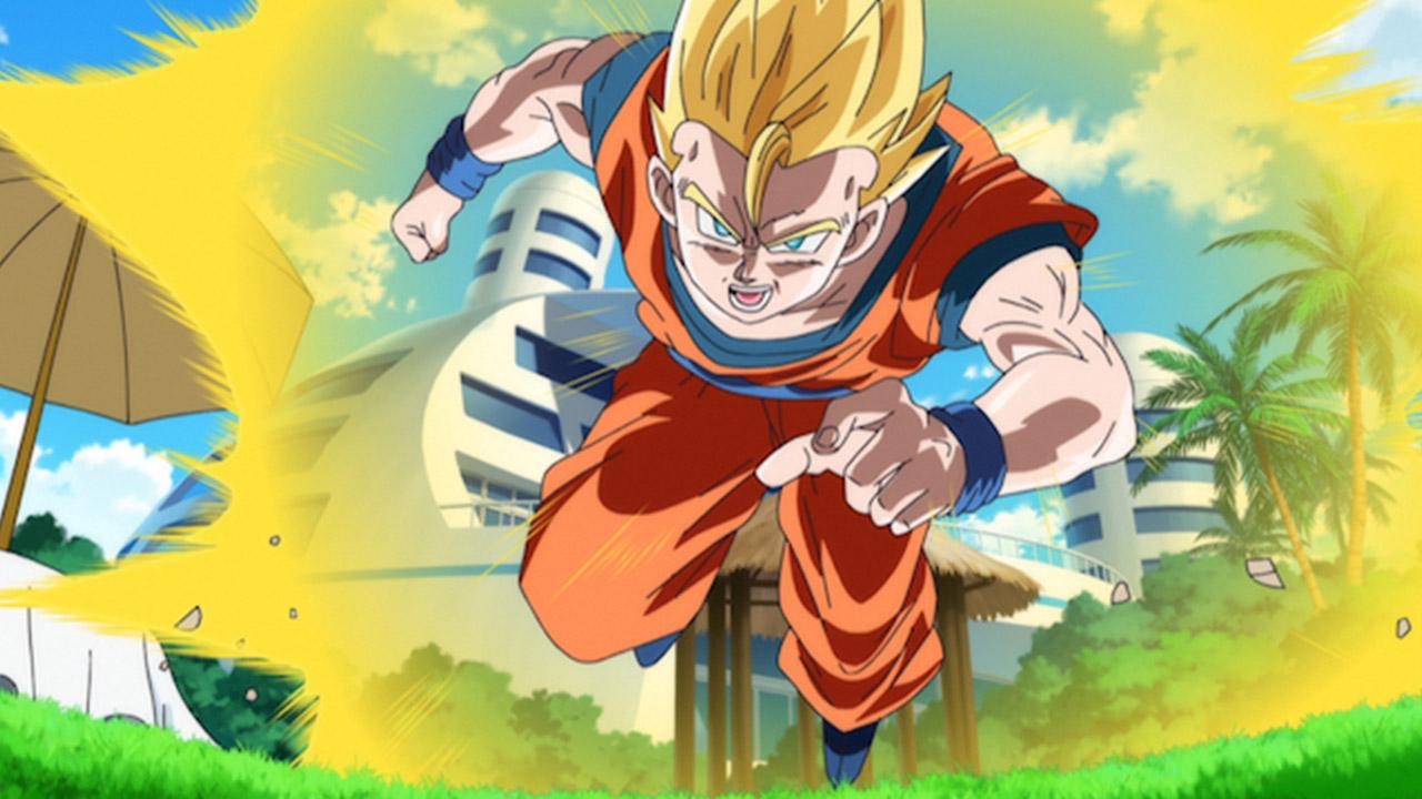 Dragon ball z battle of gods retour gagnant - Sangohan super saiyan 3 ...