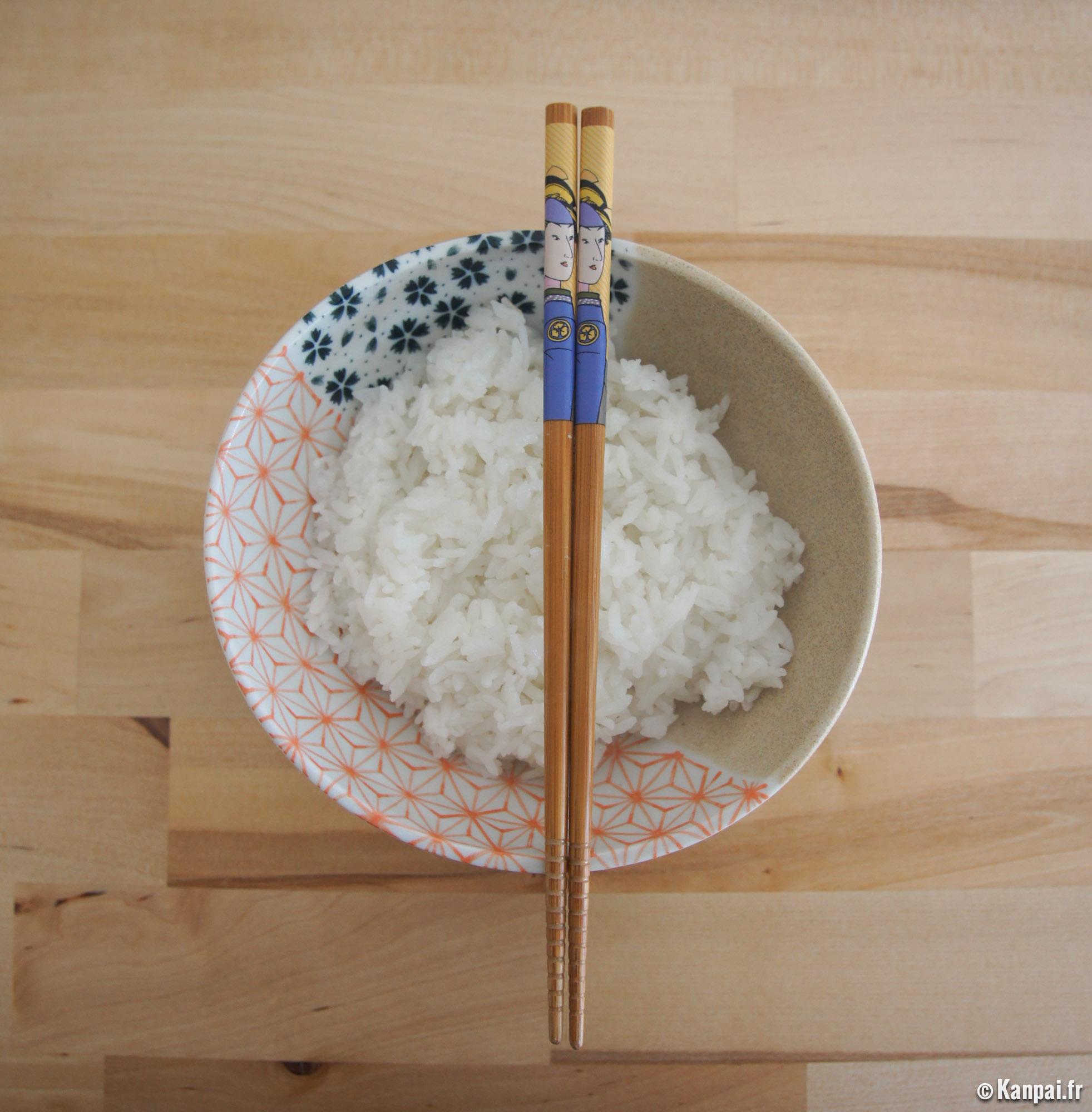 Recette du riz japonais - Bonne appetit en japonais ...
