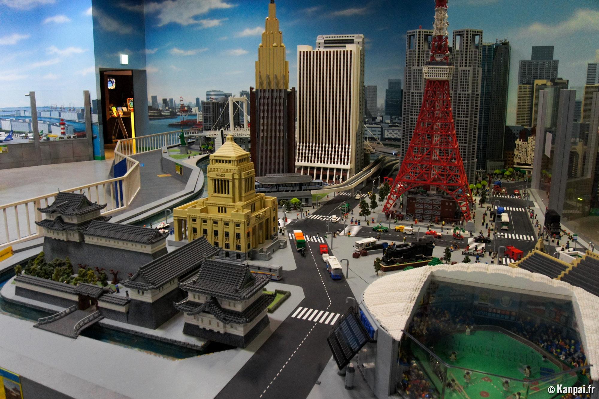 legoland le parc d 39 attractions lego tokyo. Black Bedroom Furniture Sets. Home Design Ideas