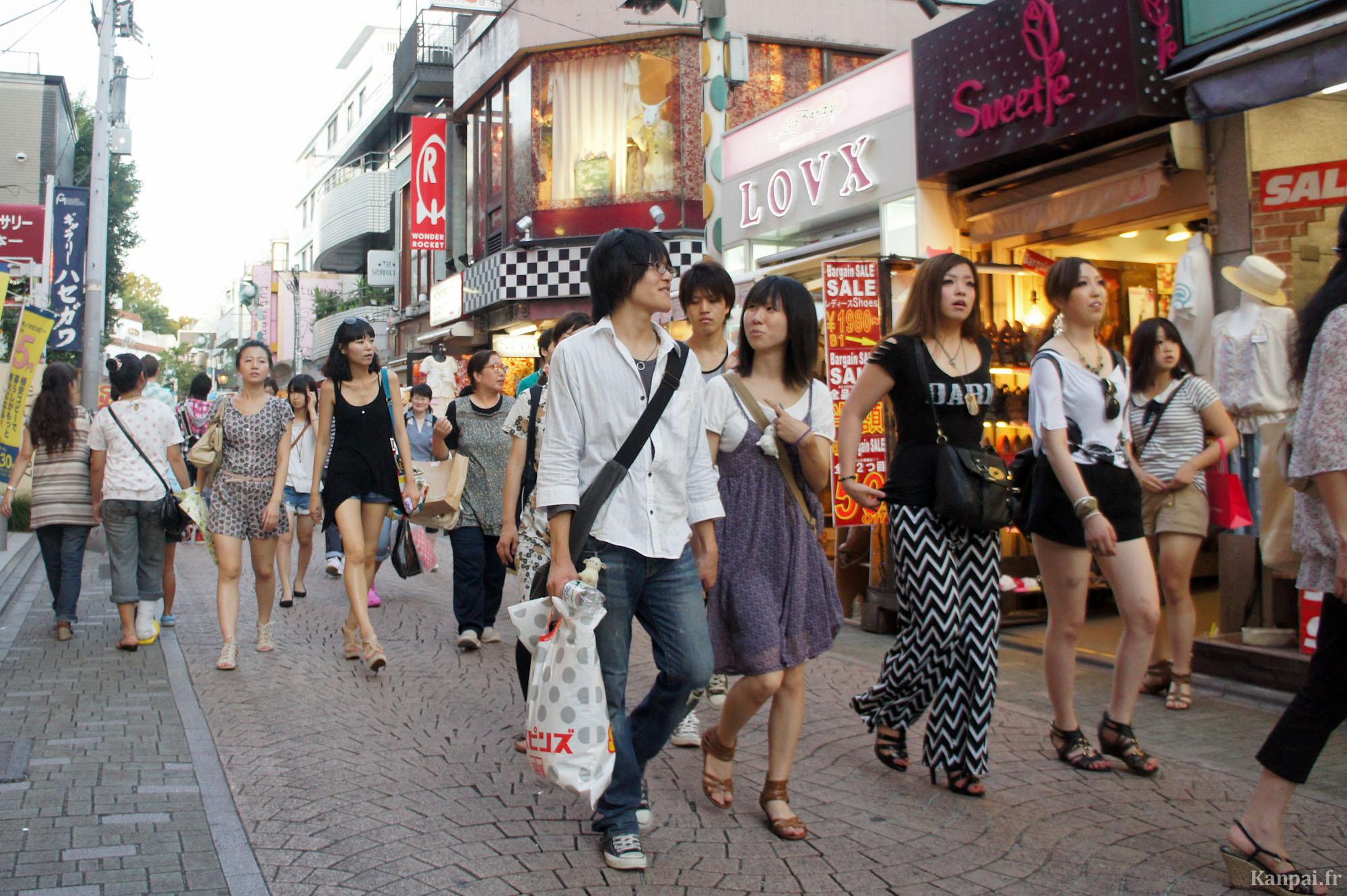 Shibuya Summer Fashion