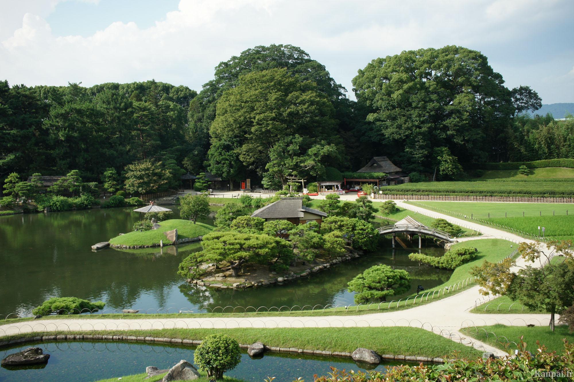 koraku en le jardin japonais d 39 okayama