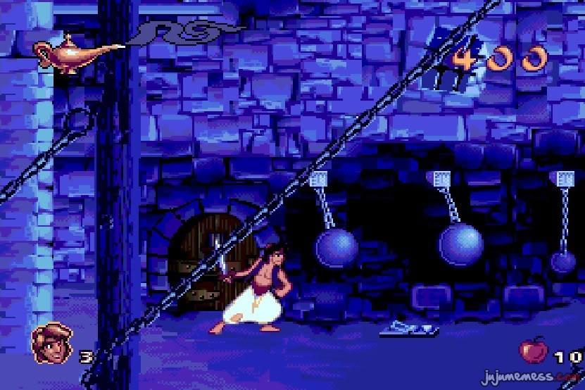 MEGADRIVE vs SUPER NINTENDO : Fight ! Aladdin_megadrive_03